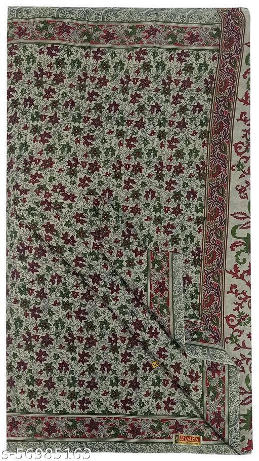Paul Bastralaya soft cotton mulmul prints traditional saree for women