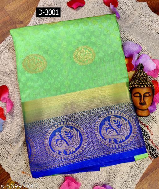 Patlani Style Presenting Kanjivaram Style Saree