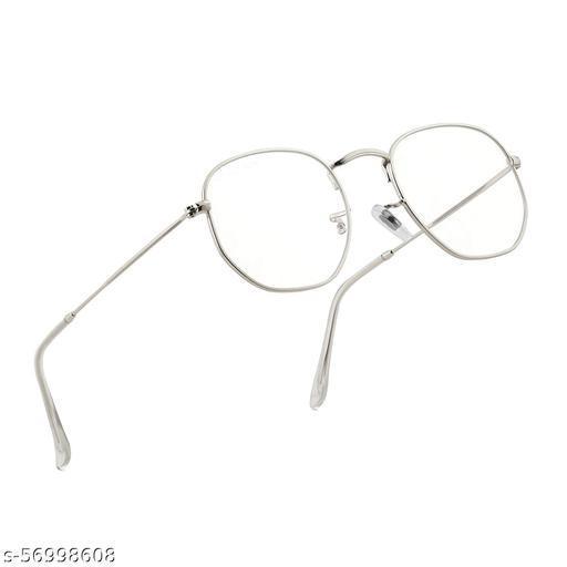 UV Protected Black Metal Frame Unisex Round Panto Style Sunglasses Eyeglasses