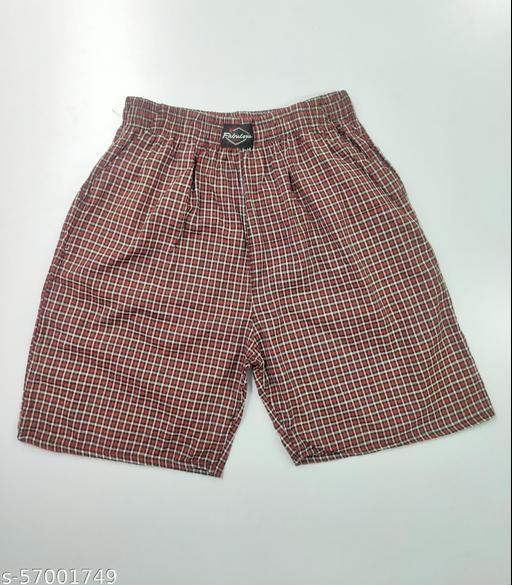 Fabulous Trendy Checked Shorts