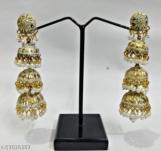 Long jhumka earring