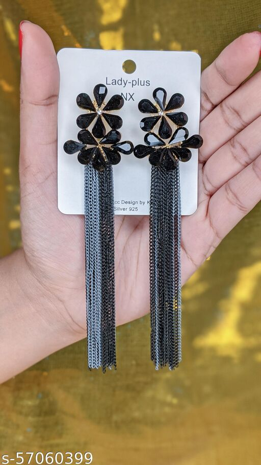 Korean Style Crystal Earring (Get A Surprise Gift)