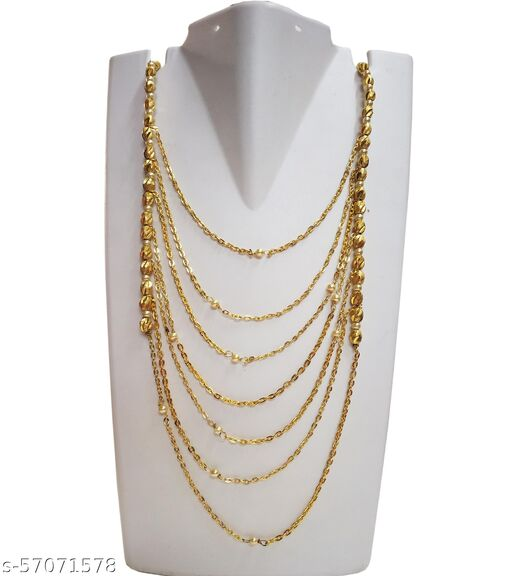Kreations fancy Chain Long Necklace for Girls and Women