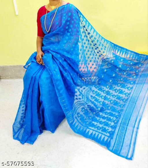 Trendy All Over Soft FagunBou Dhakai Jandani Saree