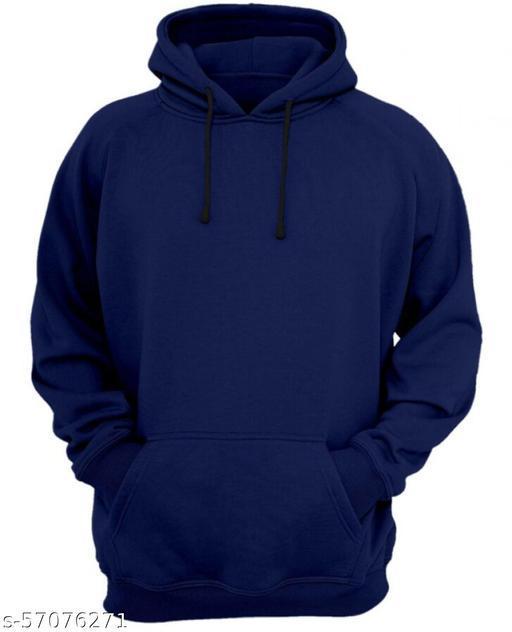 Navy Blue Men Hoodie