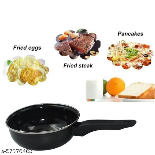 new Non-Stick Gas Compatible Fry Pan Without Lid