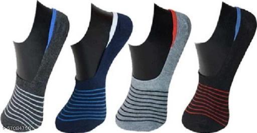 Mens-Boys-Girls-Women 56 Loafer/Low Cut Unisex Socks (Pack of 4 )