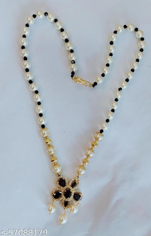 Pearls haram with cz locket