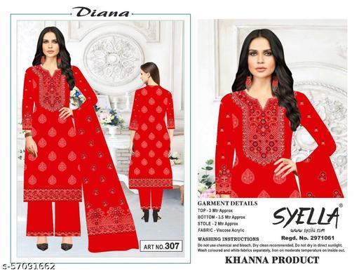 Syella Diana Ladies Designer Suits