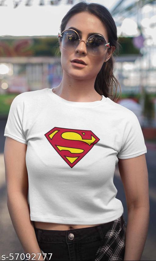 Super Woman Crop tshirt