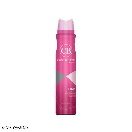 Lider Cool Breeze Pink Women Body Spray/ Deodorants