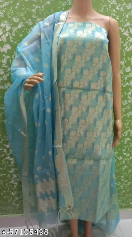 Kota Doria Weaving Dress Material