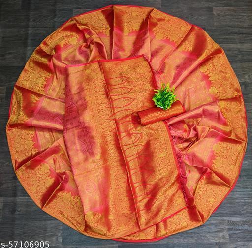 Vs Fab Banarasi With Dola Soft Silk Saree