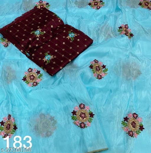 vc-183 Vc- pure jute silk (rose butti)