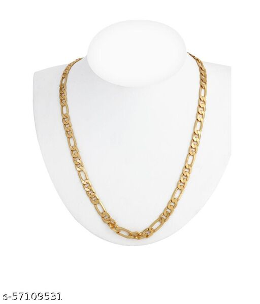 Gold Plated Mens Necklace Chain