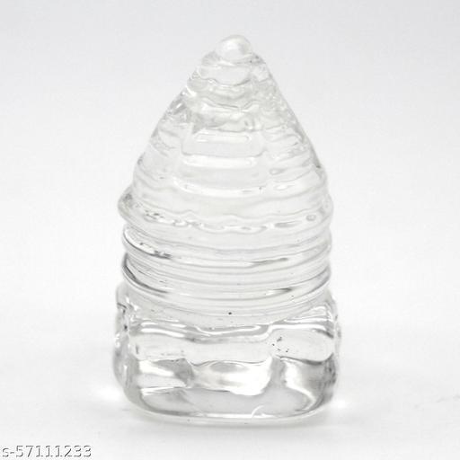 Shri Yantra of Natural Quartz Crystal Gemstone (15 gm)