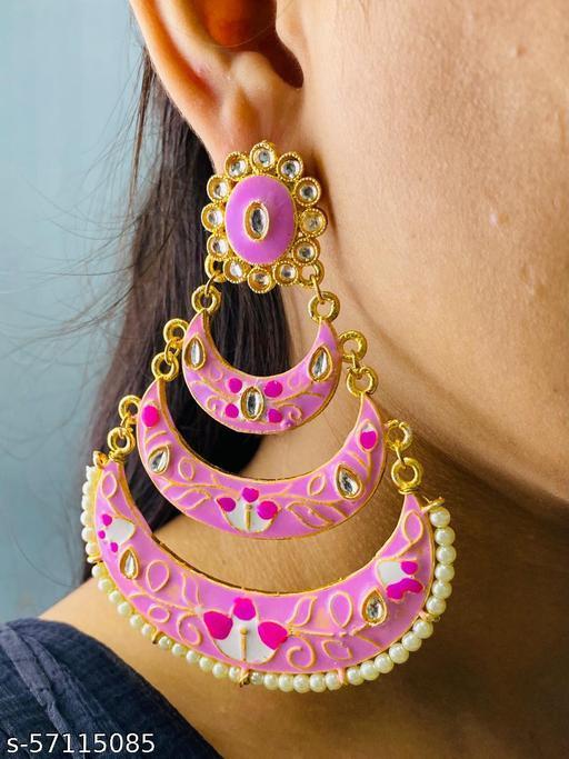 Jaipuri Meena Earrings
