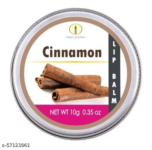 Green Junction Cinnamon Lip Balm 10 Gms tin