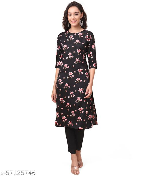 Daily Wear Ethnic Printed Kurtis For Women's