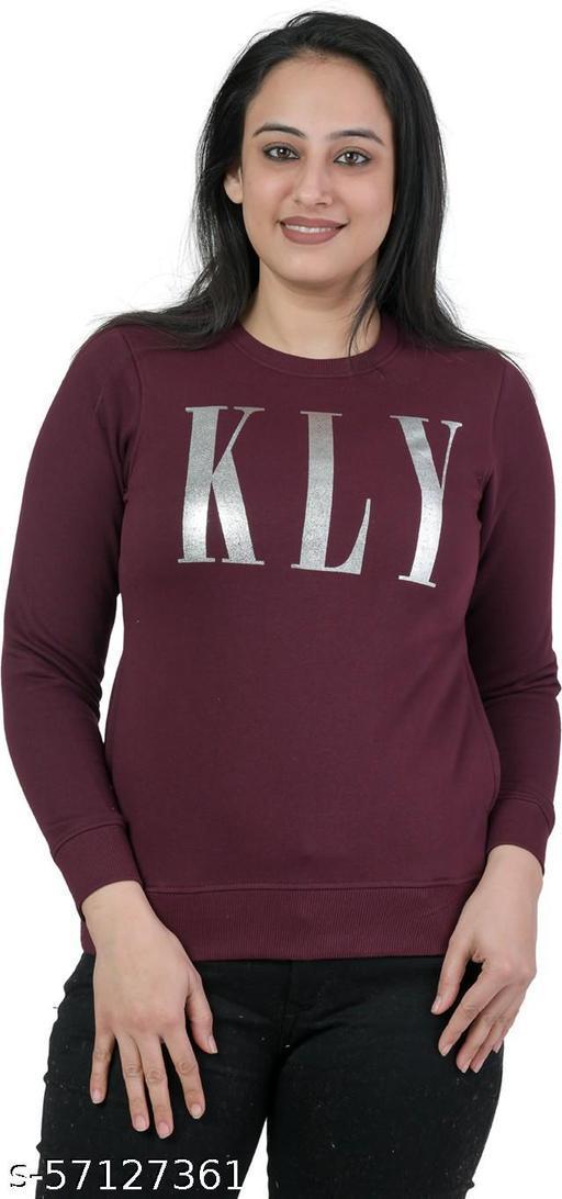 Kaily Women's Round neck Sweatshirt