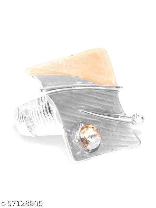 Silver-Plated Stretchable Ring