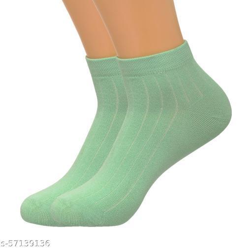 HT Trendy cotton Unisex Socks Pack of 2