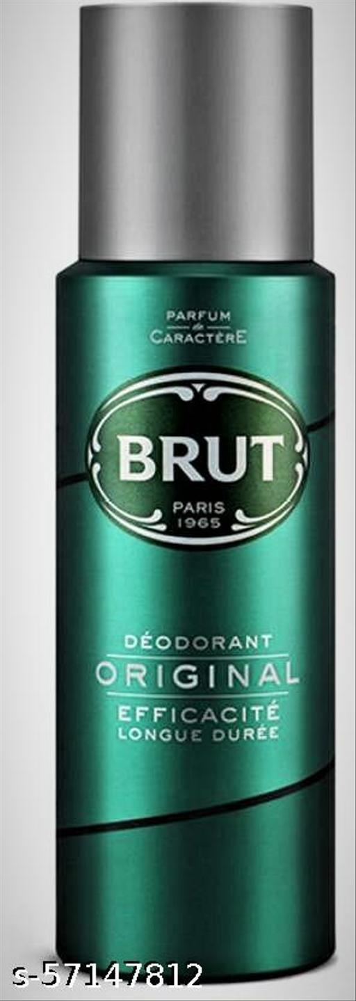 BRUT Original Deodorant for Men   Long Lasting Robust Fragrance 200ml Deodorant Spray
