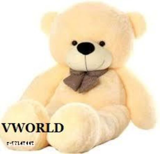 V-WORLD Feet/ 91cm Skin Friendly Ultra Soft Teddy Bear for Kids, Lovable Huggable Cute Soft Giant Teddy Bear for