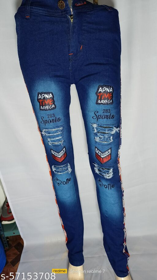 Men Damage Jeans Oliver