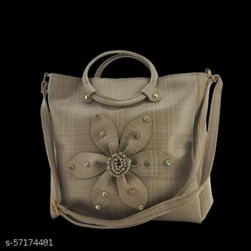Beige Messenger Bag For Women