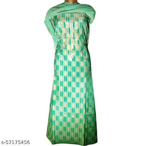 Cotton Unstitched Suit Dress Material