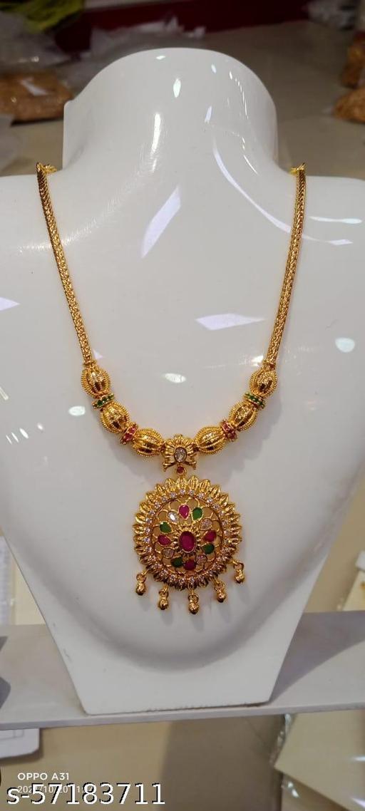 Rifana gold guranteed necklace