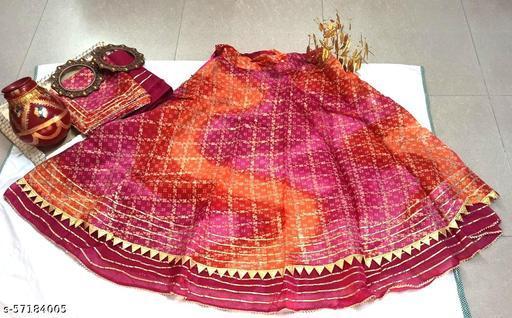 Jaipuri Kota Doriya Lehenga Choli for Women