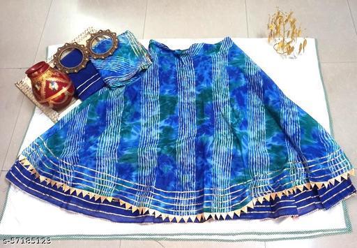 Jaipuri Kota Doriya Lehenga Choli