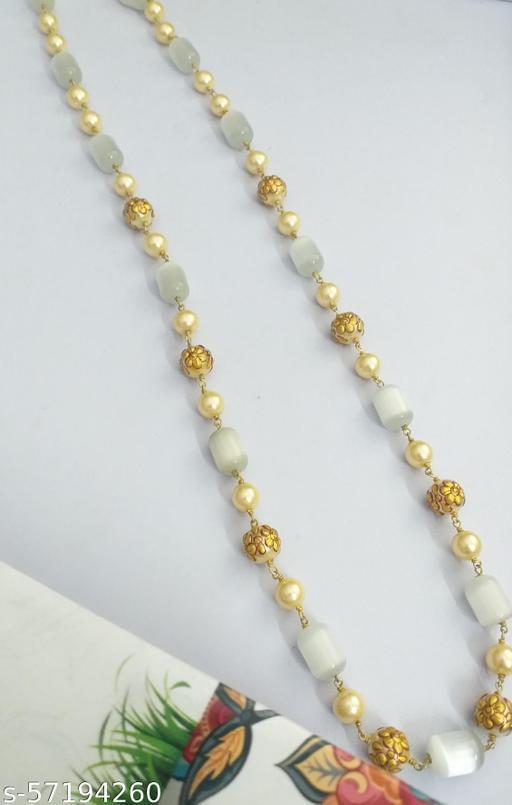 Monalisa and painted perl mala