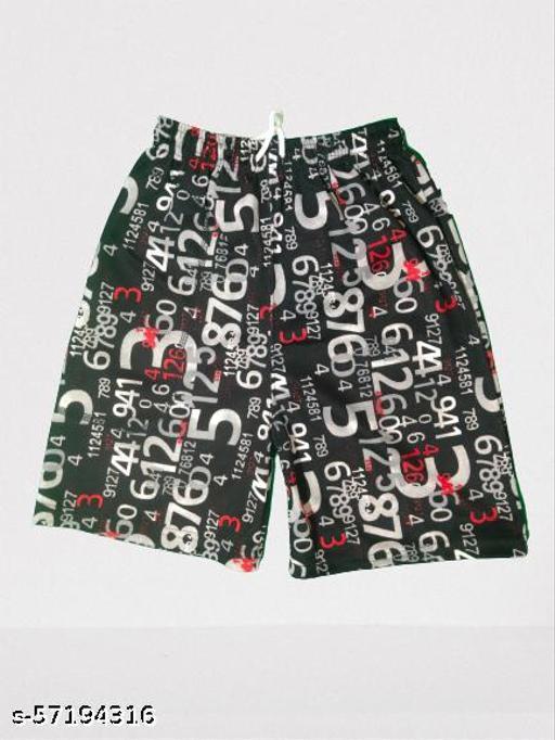 Printed men's Black and Red shorts for men / Shorts for men
