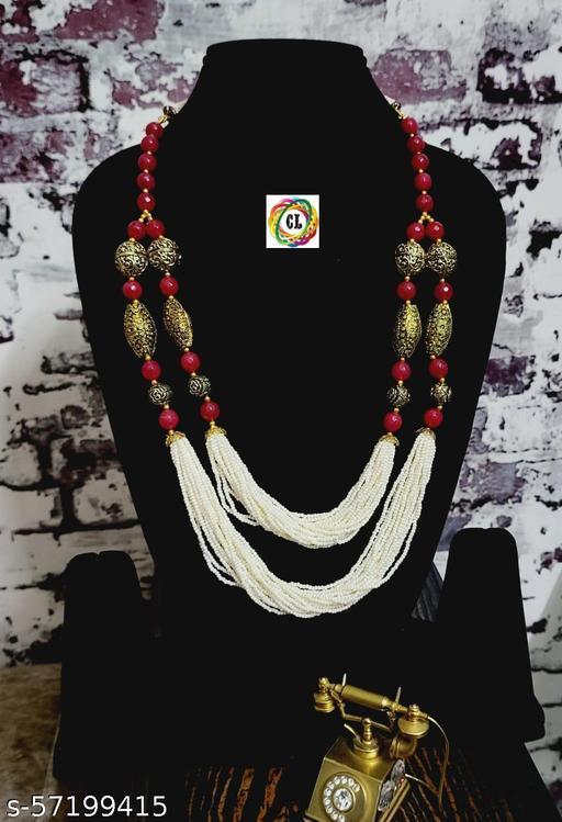 Stylish Multilayer Beads Necklace
