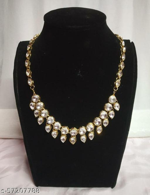 3 In 1 Trendy Kundan Necklace