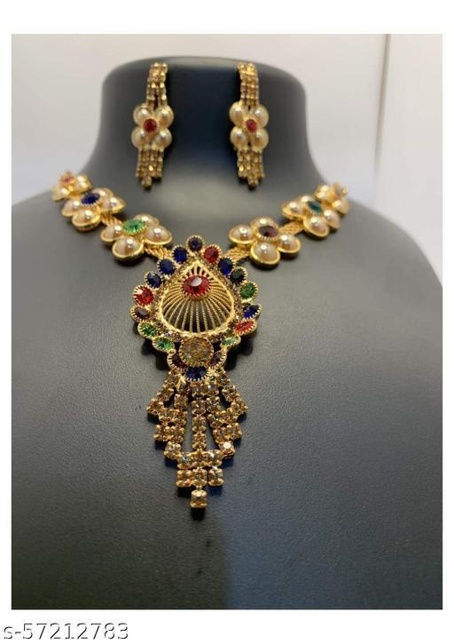 Women's Saree Suitable Pipa Bella Jewellery Set
