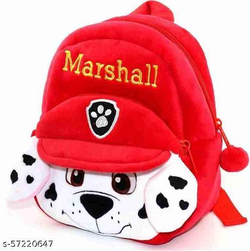 Kids School Bag Marshall Soft Plush Cartoon Baby Boys/Girls Plush Bag