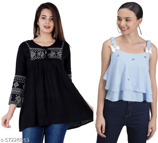 Stylish Fashionable Women Tops & Tunics
