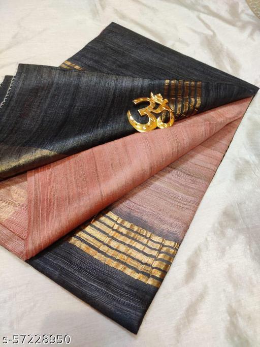 Pure Tusshar Gicha silk saree