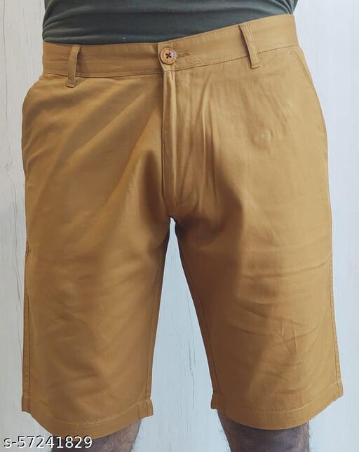 Men's brown shorts