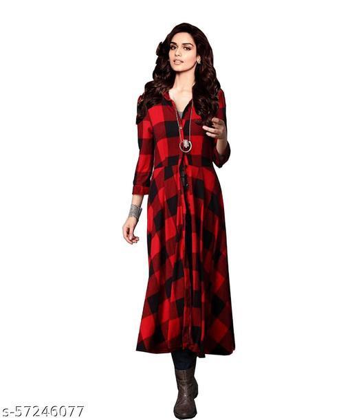 Ritsila  Women's Fit And Flare Fancy Cotton Western Dress