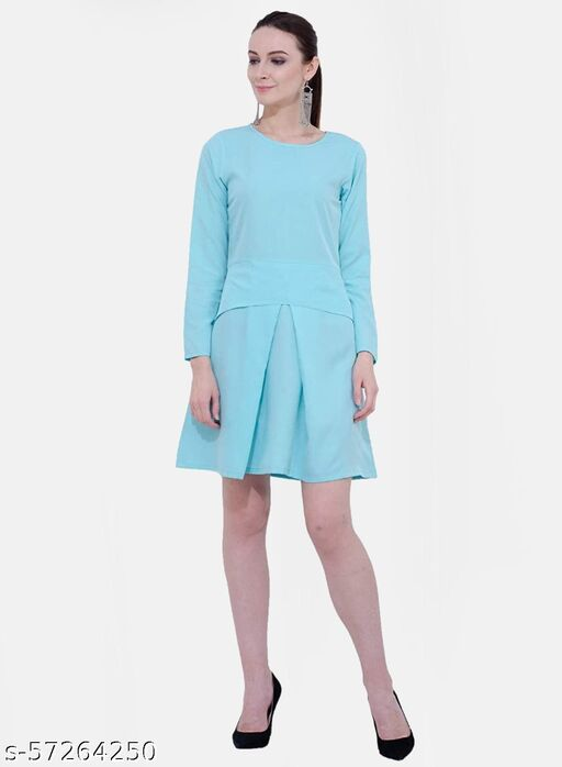 Karmic Vision Casual Dress For Women