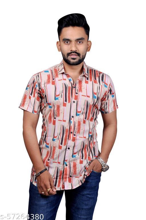 Classic Partywear Men Printed Shirts
