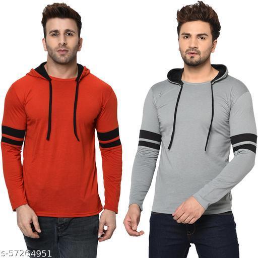 Bribzy Men's Full Sleeve Double Sweatshirts