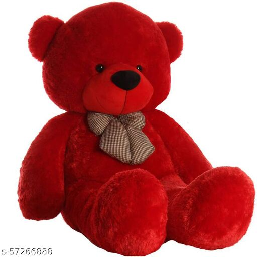 Red soft toy bear