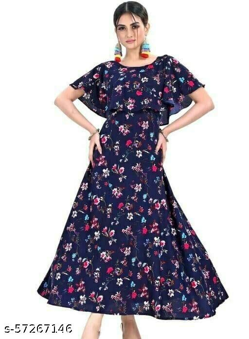 Gigev Creation Attractive Maxi Dress For Beautiful Women.