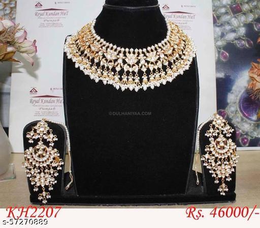 Elite Glittering Jewellery Sets